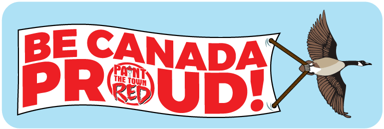 Be Canada Proud Banner
